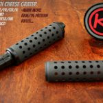 Khyber Customs Cheese Grater Upper Hand Guard (Black Oxide)