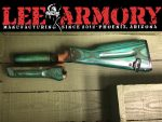 Lee Armory Russian Wood Set Refinished Monster Green
