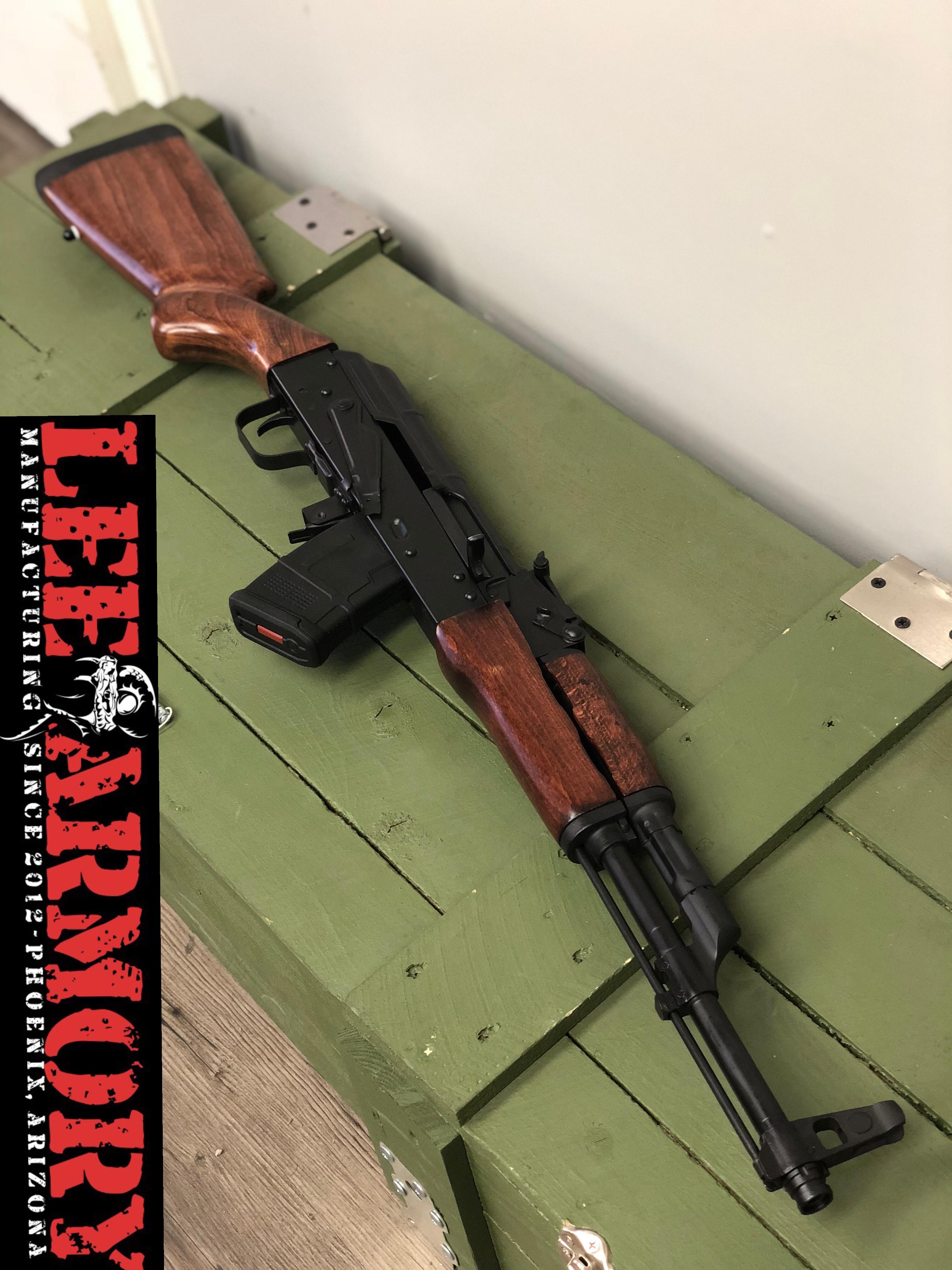 Sporter Hunter AK - Forged Romanian Parts, CHF Barrel 7 62x39 - CALIFORNIA  - Lee Armory